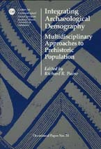Integrating archaeological demography cover