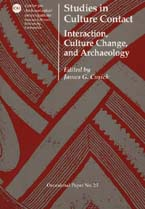 Studies in culture contact cover