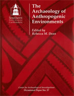 Archaeology of anthropogenic environments cover