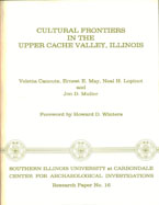 Cultural frontiers cover