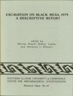 Excavation on black mesa cover